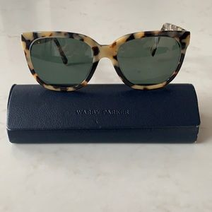 Warby Parker Reilly Sunglasses-Marzipan Tortoise